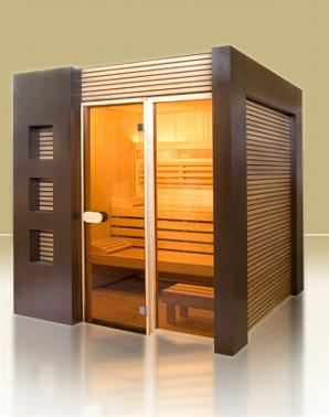 gamme modern line sauna infrarouge ou sauna traditionnel. Black Bedroom Furniture Sets. Home Design Ideas